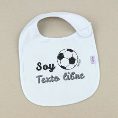 Bib Personalized Name + Hearts +3M