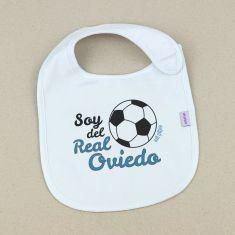 Babero Divertido Soy del Real Oviedo +3m