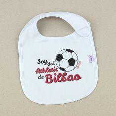 Babero Divertido Soy del Athletic de Bilbao +3m