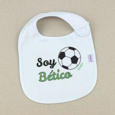Babero Divertido Soy Bético +3m