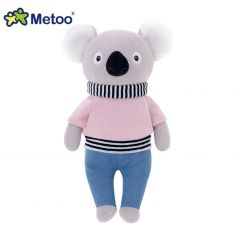 Muñeco Metoo Koala Sueter Rosa sin personalizar