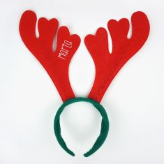 Diadema Navidad Reno Personalizada