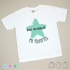 Camiseta o Sudadera Bebé y Niño/a Mi Mamá mi favorita