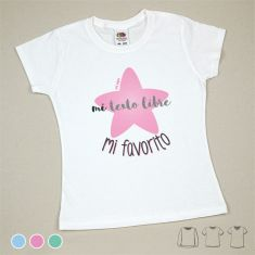 Camiseta o Sudadera Bebé y Niño/a Mi (texto) mi favorito
