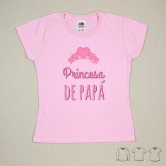 Camiseta o Sudadera Bebé y Niño/a Princesa de Papá