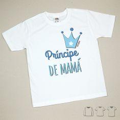 Camiseta o Sudadera Niño/a Príncipe de Mamá