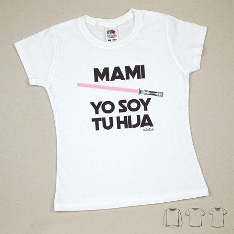 Babidu Body Basic Funny I Love Mommy with Pink Star
