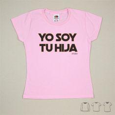 Camiseta o Sudadera Bebé y Niño/a Yo soy tu Hija Negro