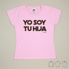 Camiseta o Sudadera Niño/a Yo soy tu Hija Negro