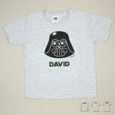 Camiseta o Sudadera Bebé y Niño/a Personalizada Darth Vader