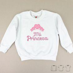 Camiseta o Sudadera Niño/a Mi Princesa