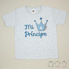 Camiseta o Sudadera Bebé y Niño/a Mi Príncipe
