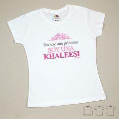Camiseta o Sudadera Bebé y Niño/a No soy una princesa, soy una Khaleesi