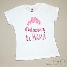 Camiseta o Sudadera Bebé y Niño/a Princesa de Mamá