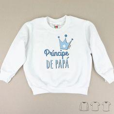 Camiseta o Sudadera Niño/a Príncipe de Papá