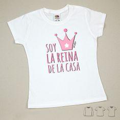 Camiseta o Sudadera Niño/a Soy la reina de la casa