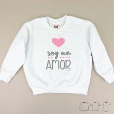 Camiseta o Sudadera Niño/a Soy un amor