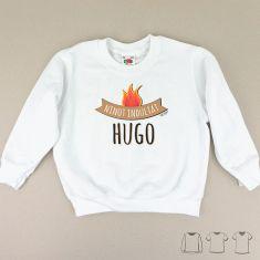 Camiseta o Sudadera Niño/a Ninot indultat personalizable