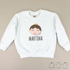 Camiseta o Sudadera Niño/a Nombre + Festera