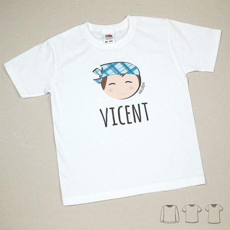 Camiseta o Sudadera Niño/a Nombre + Fallero/Festero