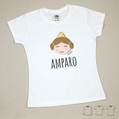 Camiseta o Sudadera Niño/a Nombre + Fallera