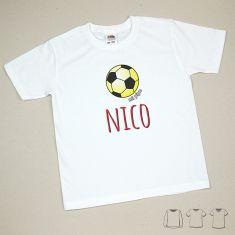 Camiseta o Sudadera Niño/a Nombre + Balón España