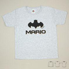 Camiseta o Sudadera Niño/a Nombre + Batman