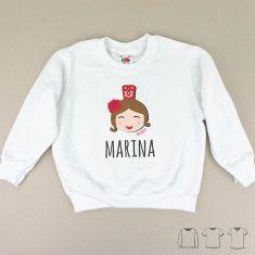 Camiseta o Sudadera Niño/a Feria chica personalizada