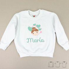 Camiseta o Sudadera Bebé y Niño/a Personalizada Hada