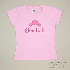 Camiseta o Sudadera Niño/a Nombre + Tiara
