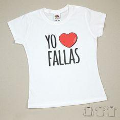 Camiseta o Sudadera Niño/a Yo corazón Fallas