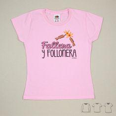 Camiseta o Sudadera Niño/a Fallera y Follonera