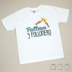 Camiseta o Sudadera Niño/a Fallero y Follonero