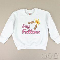 Camiseta o Sudadera Niño/a Soy Fallera petardos