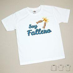 Camiseta o Sudadera Niño/a Soy Fallero petardos