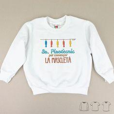 Camiseta o Sudadera Niño/a Sr. Pirotècnic, pot començar la mascletà