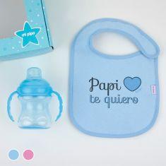 Cajita Yummy! Rosa o Azul Papi te quiero
