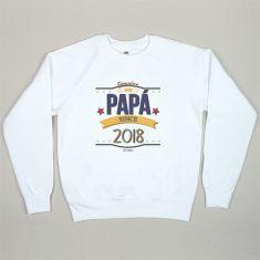 Camiseta o Sudadera Personalizada Genuine Papá since...(año nacimiento hijo)