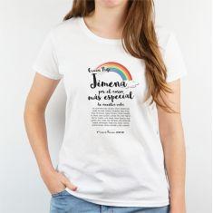 Camiseta Personalizada Hombre/Mujer Gracias Profe (nombre) por el curso más especial de nuestra vida (texto alumnos)