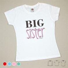 Camiseta o Sudadera Niño/a Big Sister