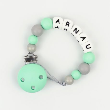 Silicone Chain Personalized Mint