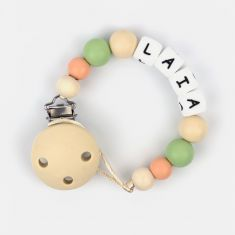 Silicone Chain Personalized Beige