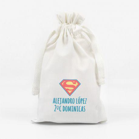 Bolsita para Mascarilla Superman personalizada