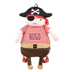 Pirate personalized Doll-Backpack
