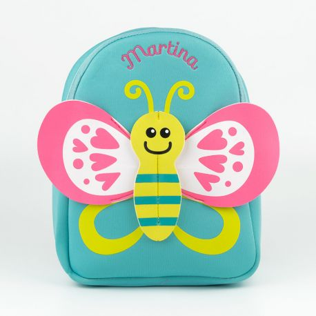 Personalized Pink Stars Junior Backpack