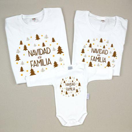 Pack 3 Prendas Navidad es Familia