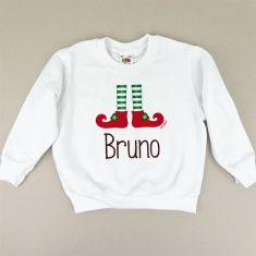 Camiseta o Sudadera Navideña Personalizada Elfo