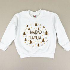 Camiseta o Sudadera Niño/a Navidad es Familia