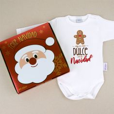 Babidu Body NavideñoSoy lo más dulce de la Navidad con cajita de regalo
