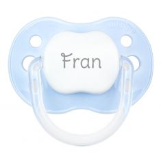 PTL Blue personalized New Classic pacifier